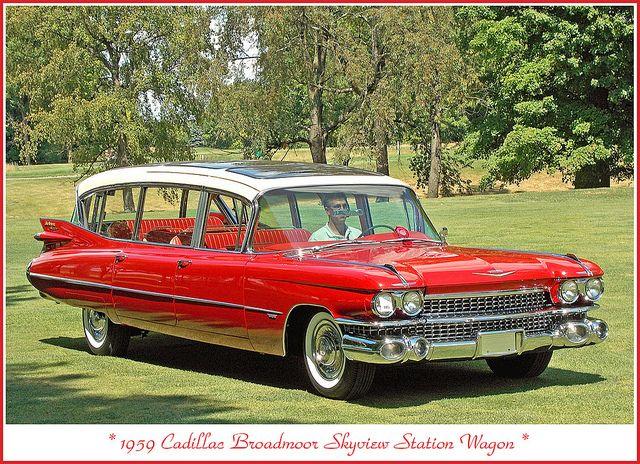 1959 Cadillac Broadmoor Skyview by sjb4photos, via Flickr