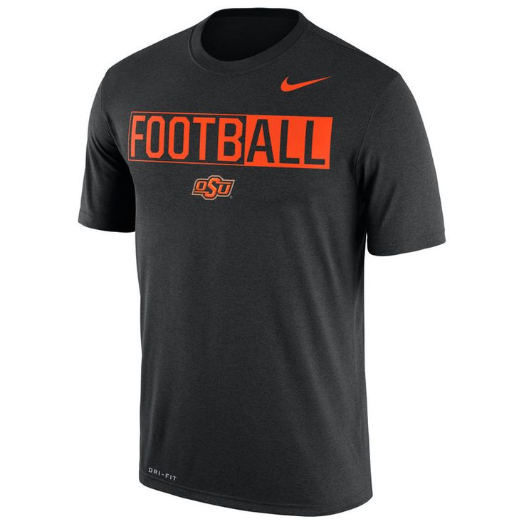 Oklahoma State Cowboys Nike Legend FootbALL Performance T-Shirt - Black
