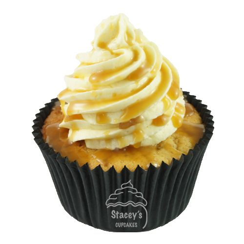 """4D Caramel Cupcake """"Dulce de Leche"""" by Stacey's Cupcakes www.staceyscupcakes.com.au"""