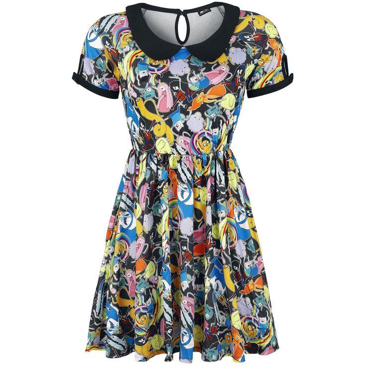 """Abito """"Collar Dress"""" del brand #AdventureTime."""