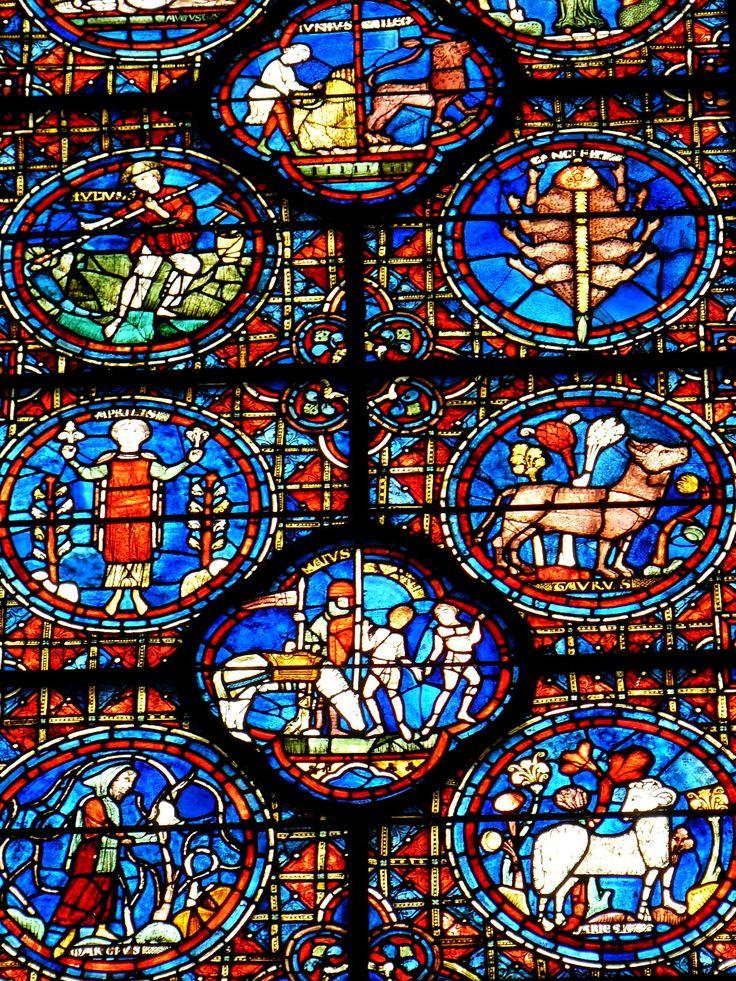 « Vitraux de la cathédrale de Chartres »