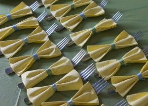i want to do this with the napkins!