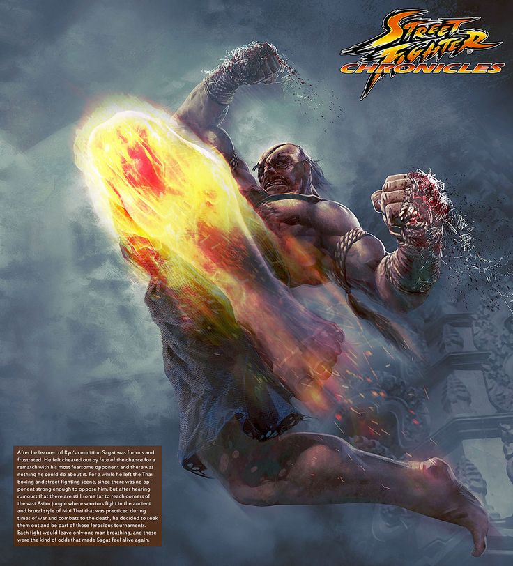 Street Fighter Chronicles - Sagat