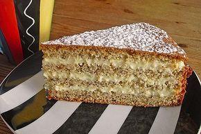 Nuss – Vanille – Torte 3 – Kuchen