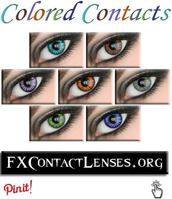 Spice up and pair with any style cloths, dress, or costumes with some trendy & fashionable coloured contact lenses.  http://fxcontactlenses.org/coloured-contact-lenses  These coloured contacts were originally popularized by Japanese girls.  But lately, have become popular among celebrities in the states:(movie stars & singers).  Cool colored contact lenses to match any looks, style cloths, or costumes: (Green, Blue, Aqua, Grey, Violet, Brown, and Amber).  Click link above for more…