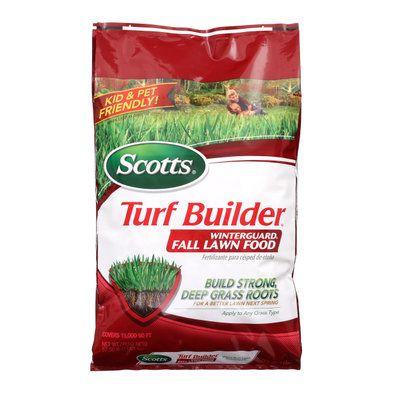Scotts Turf Builder 42.3 lb. 15,000 sq. ft. WinterGuard Fall Fertilizer 38615 at The Home Depot - Mobile