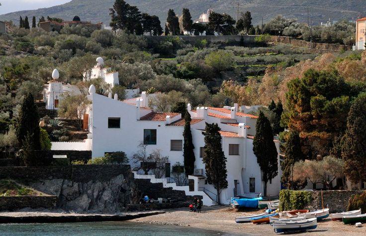 Home of artist Salvador Dali in Portlligat, near Cadaques, Spain