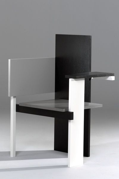 Berlin chair Design by Gerrit Rietveld, 1923