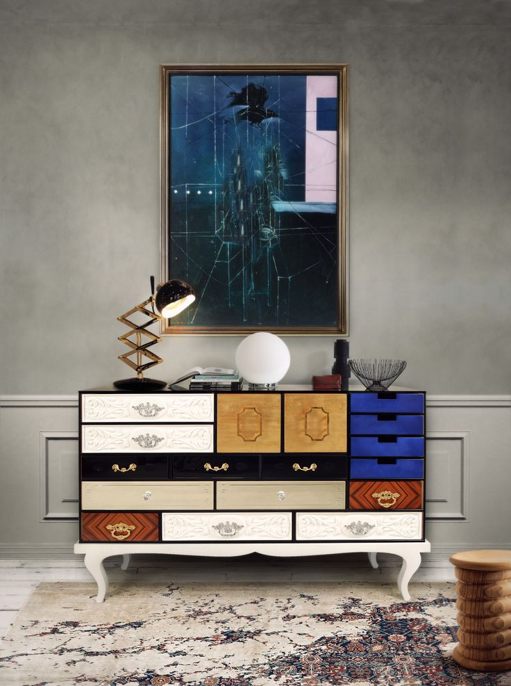 Soho Sideboards by Boca do Lobo | The attitude and irreverence reflected by this piece made it an icon, never unnoticed in any part of the world. www.bocadolobo.com