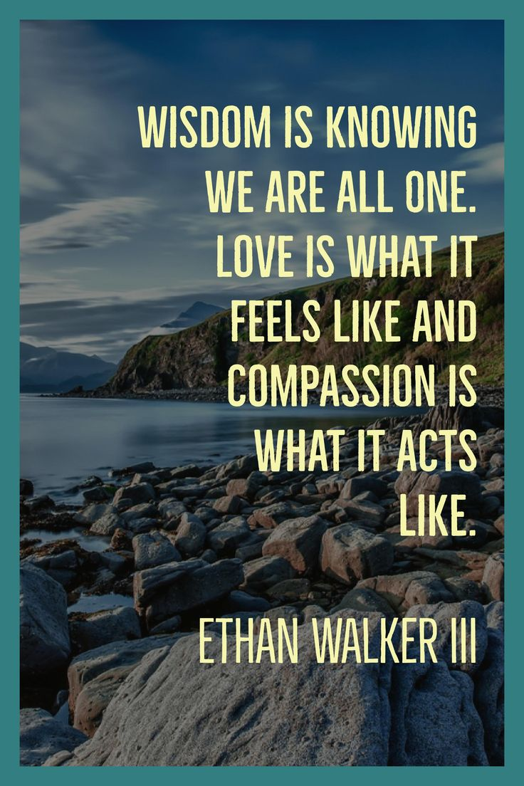 Monday Motivation: When you develop a habit of showing compassion, you begin to experience life in a new way.