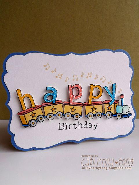 Happy Birthday Card by cathy.fong, via Flickr