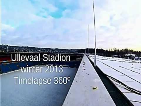 Ullevaal Stadion timelapse winter 2013