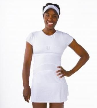 Women's Tennis Blog   saved to   New WTA Apparel  --  Venus Williams in her new EleVen dress for Wimbledon 2016, the Club collection