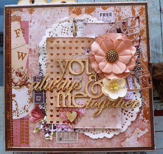 My Happy Crafty Place: You & Me Always Together  Mini Album