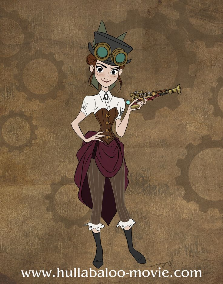HULLABALOO - Animated Steampunk Movie Aims to Saves Hand-Drawn Animation - movie news - Movies.ie