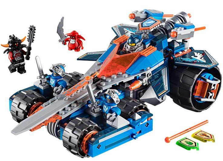 LEGO NEXO KNIGHTS - Lama Tunet a lui Clay (70315), jucarii LEGO ieftine de Craciun  Vezi pe http://www.buyxpress.co/lego-nexo-knights-lama-tunet-a-lui-clay-70315/