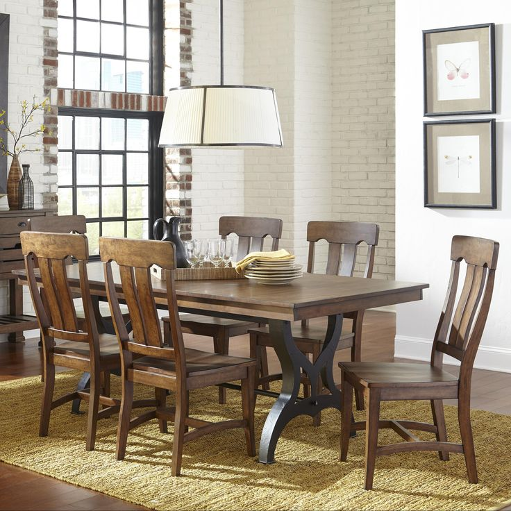 The District 7 Piece Table u0026 Chair