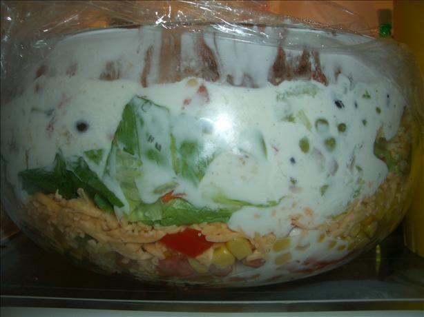Layered Cornbread Salad...I love this one!