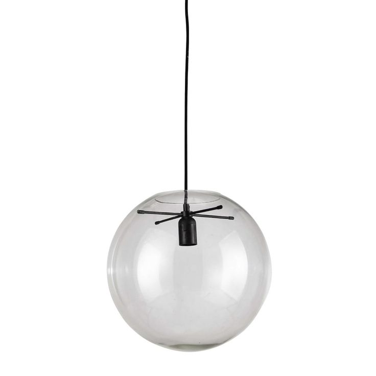 LAPLACE glass transparent pendant ...
