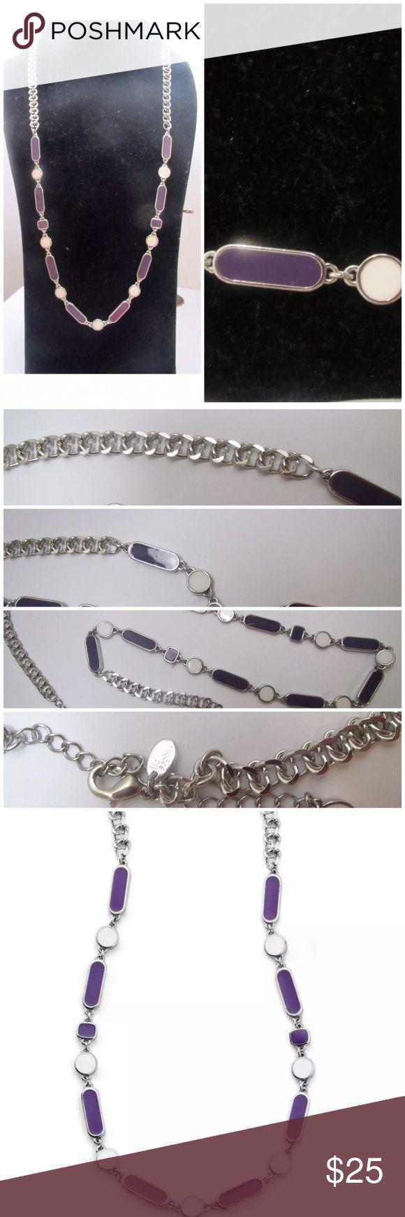 "Lia Sophia Skip A Beat Necklace By Lia Sophia sophisticated 30-33"" Length Necklace Lia Sophia Jewelry Necklaces"