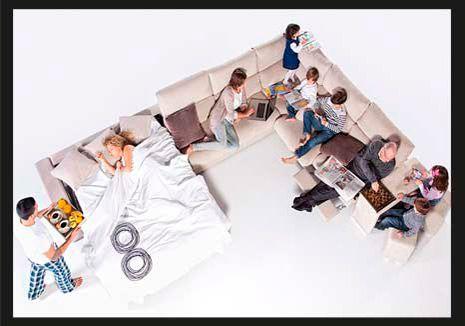 Sof llit de disseny sof cama de dise o tortosa - Sofas de descanso ...