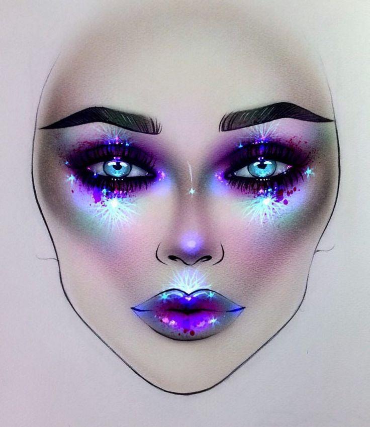 "7,193 Likes, 28 Comments - Sergey X (@milk1422) on Instagram: ""#artist@milk1412  ✨ #mylove #myart #myartistcommunity #myartistcommunityrussia #makeup #makeupart…"""