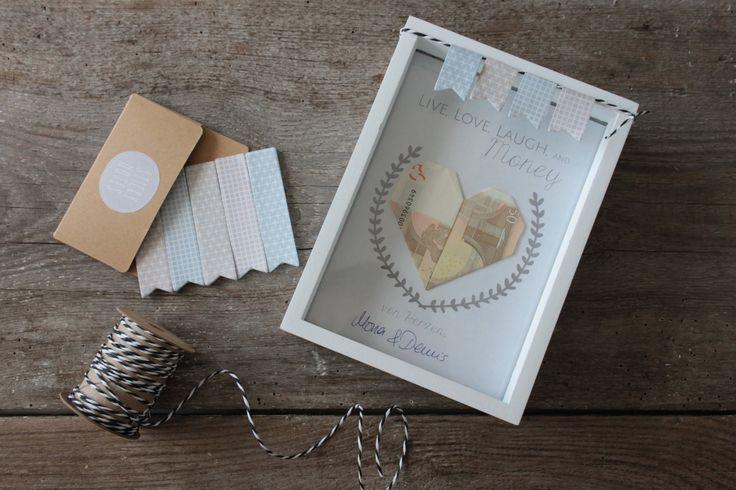 Ab Mai läuft die Hochzeitssaison auf Hochtouren. Doch wie verschenkt man am schönsten Geld? Ich zeige euch in diesem Beitrag kreative Geldgeschenke.