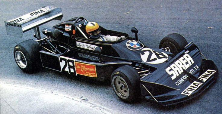 Alberto Colombo - March 772 BMW/Heidegger - Euroracing - XXXVII Grand Prix Automobile de Pau 1977
