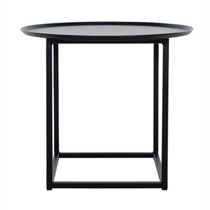 Domo Round Square bord fra Domo. Produktene fra Domo er produsert i rent stål. Fra det harde og kraf...
