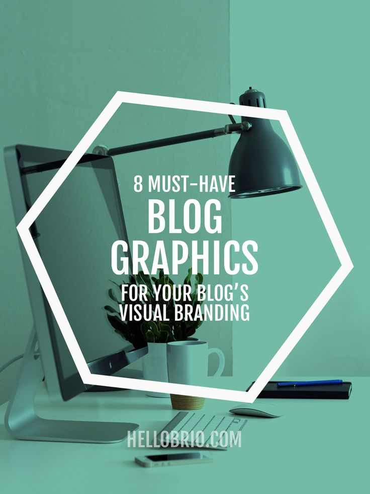 8 Must-have blog graphics for your blog's visual branding