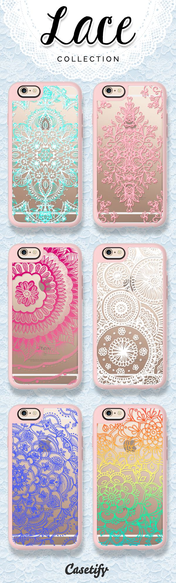 Love for lace! Check out our Lace collection now!   https://www.casetify.com/collections/lace#/ | @casetify