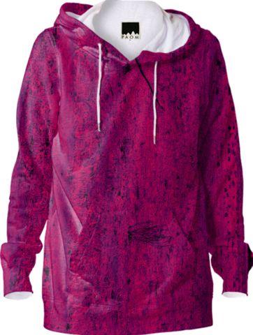Textured Hoodie - Pink