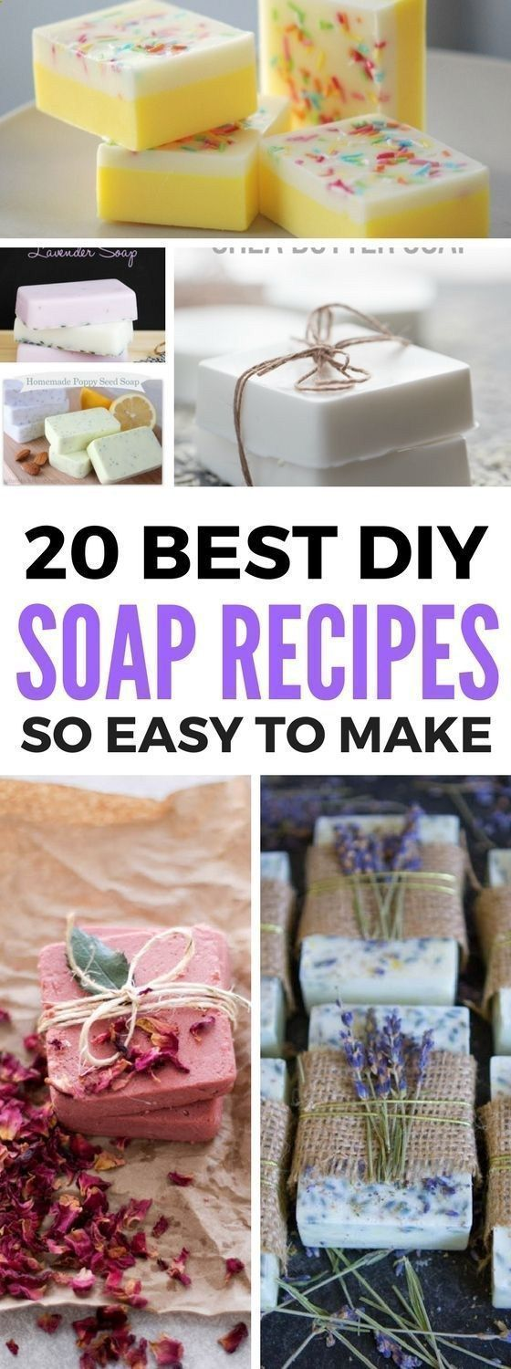 Homemade Soap Recipes that are even great for beginners and advanced gurus. Contains great tutorials which include making soap with essential oils and more. Also a great diy idea to make and sell! #soapmakingforbeginners #homemadesoap