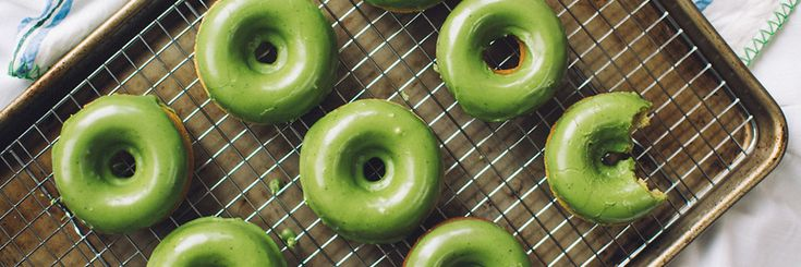 DIY: Matcha Baked Donuts for National Donut Day! - The Honest Company Blog