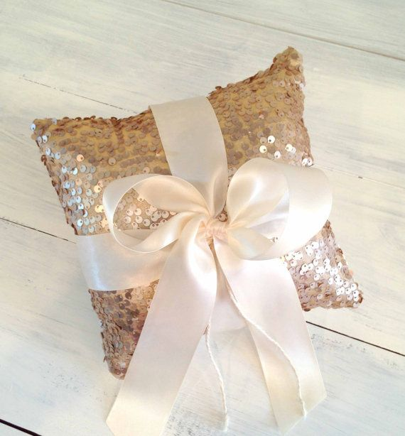 Looking for the perfect pillow to adorn the hands of your sweet little ring bearer? How about our sequin and velvet ring bearer pillow? Our 8 x 8