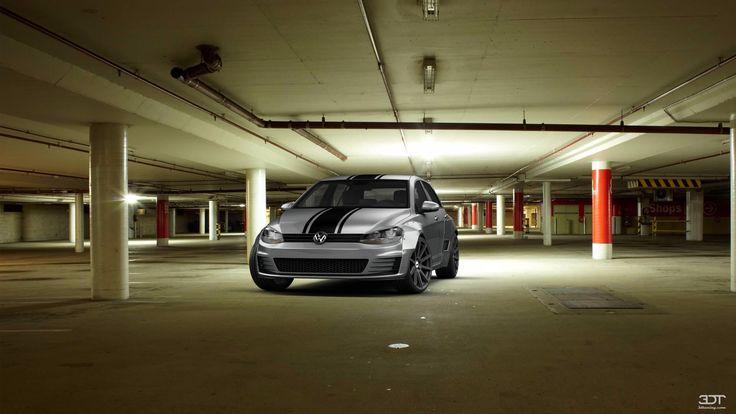 Volkswagen Golf7 2014 3DTuning