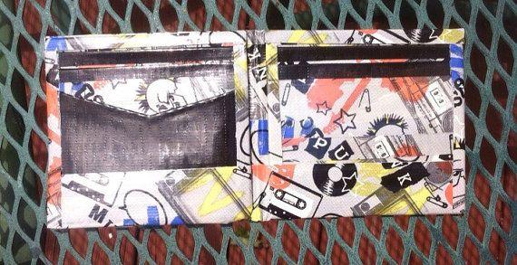 Punk music and black duct tape bi-fold by TrueTransSoulRebel