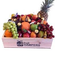 Anthon Berg & Ferrero Chocolate Hamper  #fruithampers #fruitgifts #giftsformen #luxurygifts #mangifts #freeshipping #hampers #gifthampers #giftsaustralia