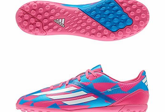Adidas F10 Astroturf Trainers Pink M18316 adidas F10 Astroturf Trainers PinkIf you are looking for speed on the field, these adidas F10 Astroturf Trainers are the idealchoice for you. Inspired by the adizero f50 which is worn by players suc http://www.comparestoreprices.co.uk/football-equipment/adidas-f10-astroturf-trainers-pink-m18316.asp