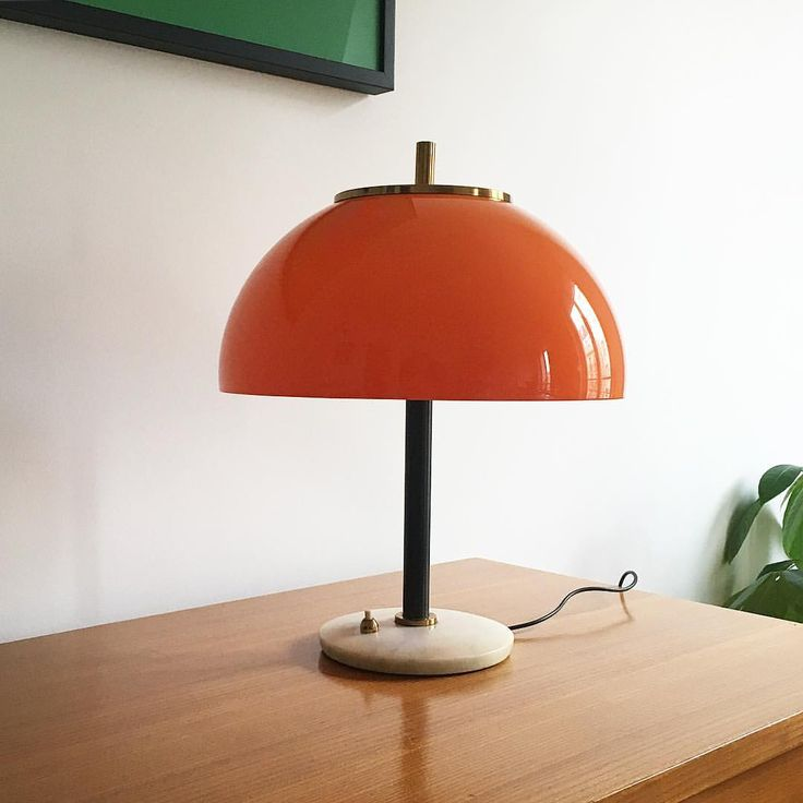 "450 Likes, 8 Comments - THE GOOD OLD DAYZ (@thegoodolddayz) on Instagram: ""Lampe champignon - Italie #forsale #orangeisthenewblack"""