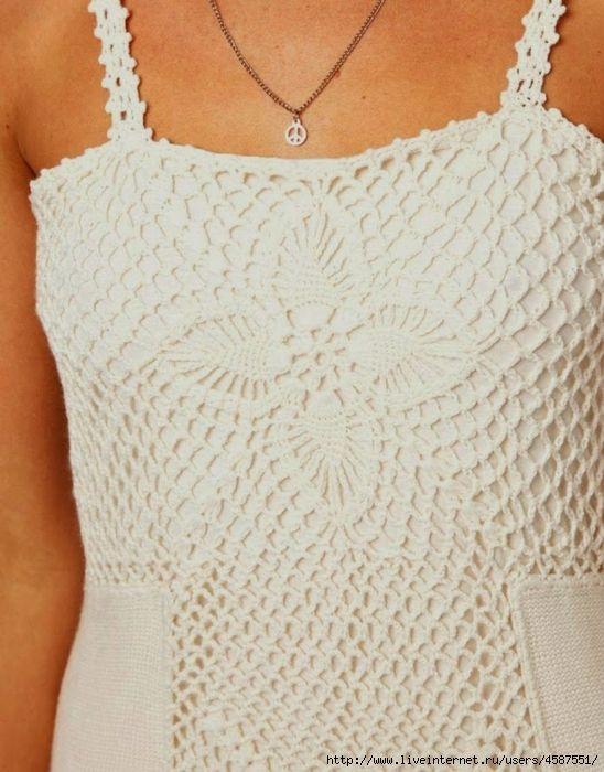 Белое платье со вставками. Обсуждение на LiveInternet - Российский Сервис Онлайн-Дневников