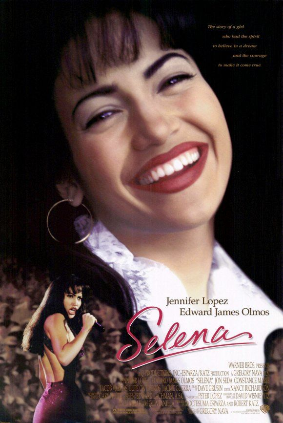 Selena - my favorite Jennifer Lopez film.  She is so good at playing Selena, it is often difficult to differentiate between the two.  Superb cast that respectfully pays homage to the young, talented singer.