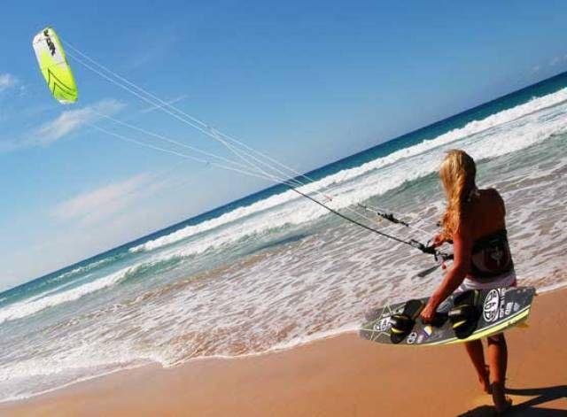 El Medano, Tenerife - very laidback kite- and wintersurfing spot