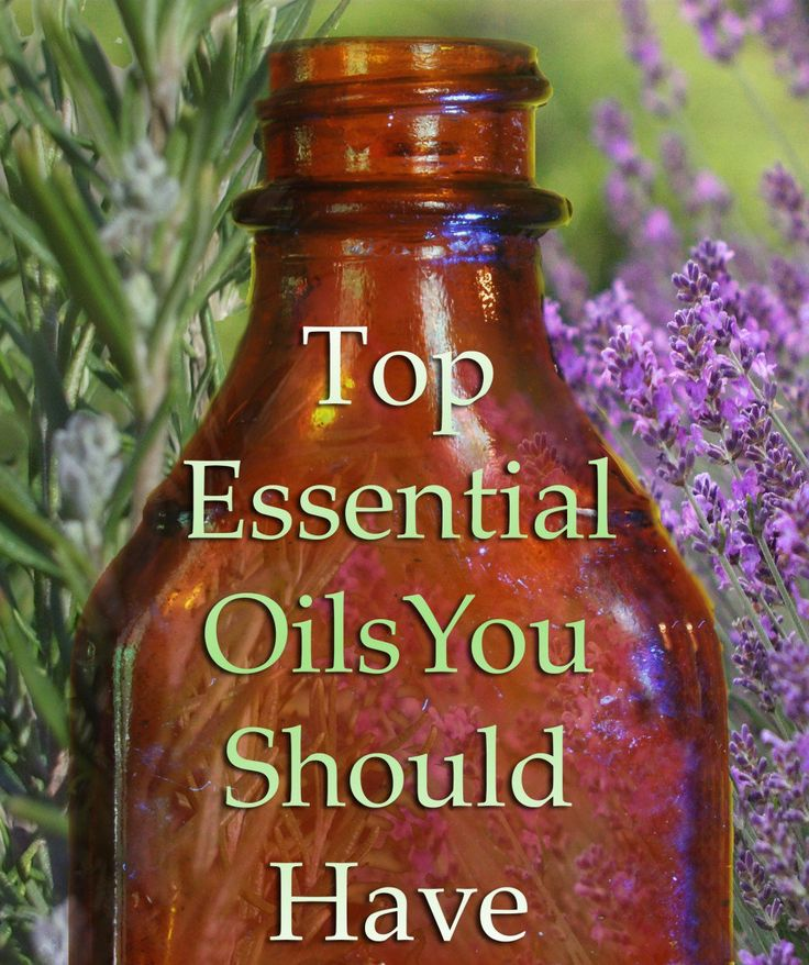 The top 10 Essential oils every household should have on hand as natural alternatives to many chemical products.