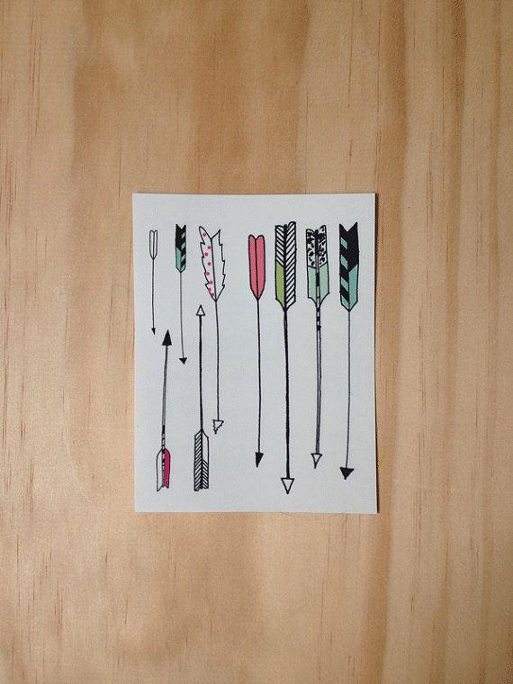Arrow Tattoos by HartlandBrooklyn on Etsy