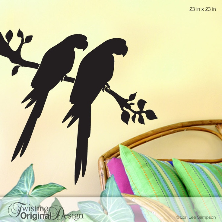 Best Bring Nature Indoors With Wall Decals Images On Pinterest - How to make vinyl wall decals with silhouette cameo