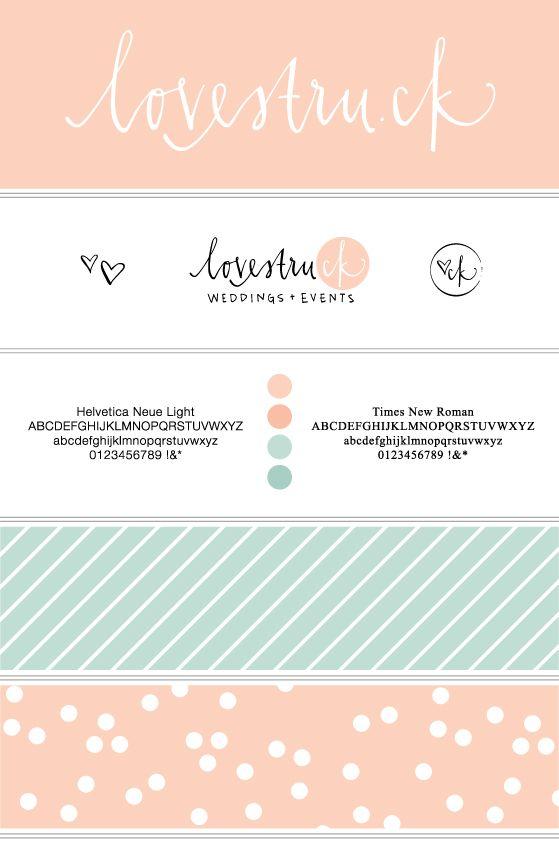 Lovestru.ck Rebranding by Liz White, via Behance