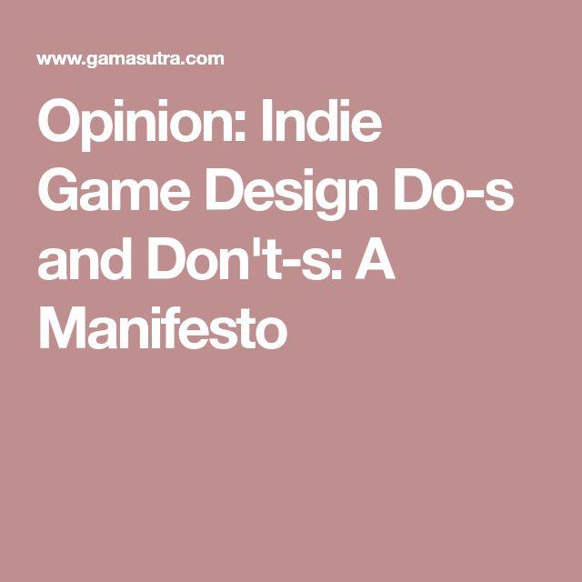 Game design manifesto — photo 2