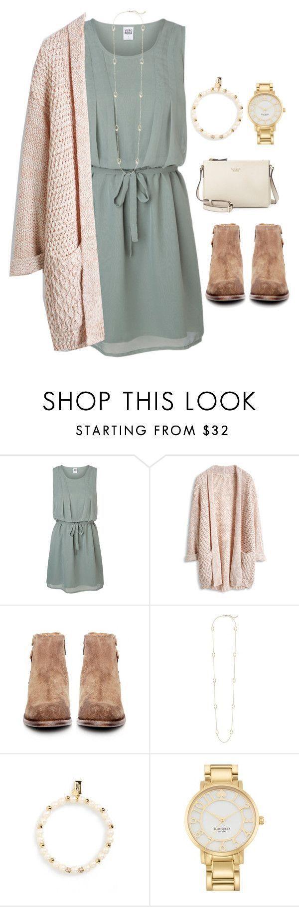 Ich mag das Kleid und den Pullover mit den Booties
