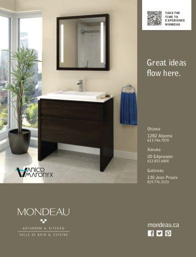 Vanico Maronyx's gorgeous vanity fits into big and small bathrooms.